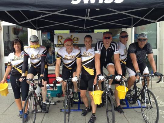 Team Ian Spin-a-Thon 2014